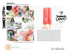 Summer Stories example by Annette Haring for aliedwards.com #craftthestory