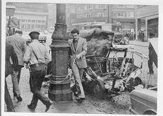 Hugo Stabel  In de schaduw van een mentor/adjunct-commissaris volg ik mijn opleiding tot aspirant-officier bij de Brusselse stadspolitie. Het is 7 augustus 1974. Het is iets nà 10 uur. Brussel centrum wordt opgeschrikt door een aanslag van het ETA.