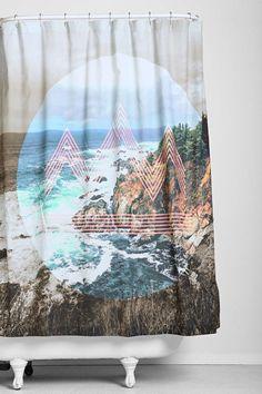 4040 Locust Pacifico Shower Curtain