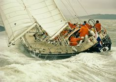 It was called the Whitbread Race Around the World back then....I was lucky enough to see the Whitbread Sailboats in 1997 in Fort Lauderdale, Florida.....Volvo Ocean Race 1977-1978 winner Flyer