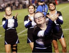 Central Crossing cheerleader's fantastic 'adventures' continue #DownSyndrome #MakingADifference