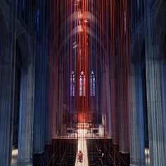 Anne Patterson, Graced With Light, Grace Cathedral, San Francisco, 2014