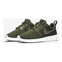 Nike Roshe One Knit Jacquard Men's Shoe. Nike.com (1.178.775 IDR) ❤ liked on Polyvore featuring men's fashion, men's shoes, mens shoes and nike mens shoes