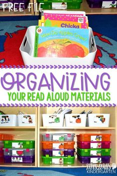 Read aloud organizat