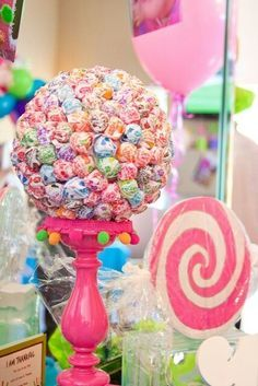 lollipop candy craft centerpieces - Google Search