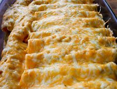 These Honey Lime Chicken Enchiladas have changed our view of Enchiladas forever. ohsweetbasil.com