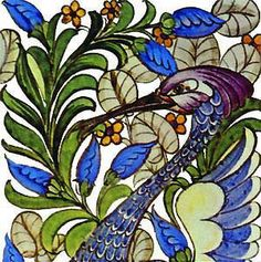 William Morris Tile: Tiles by William Morris, De Morgan, Preraphaelites - Arts and Crafts Tiles