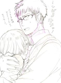 Jean x Armin, jean with glasses *drools*