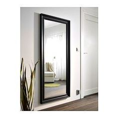 HEMNES Mirror - black-brown - IKEA