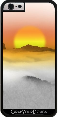GrabYourDesign - Case for Iphone 6/6S Distant Sunset - by Texnotropio
