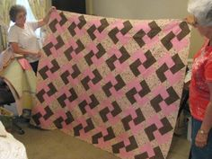 Quilt made by Nancy.  Beautiful!!!!