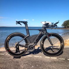 Ironman pony. S-works shiv, Zipp 808. Aero is everything.