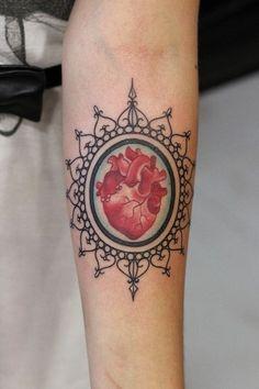 Heart Tattoo | gypsy soul | Pinterest