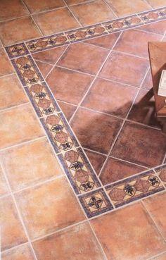 Home Decorating Websites Free Entryway Tile Floor, Foyer Flooring, Stone Flooring, Kitchen Flooring, Floor Design, Tile Design, Porch Tile, House Outside Design, Mexican Style Kitchens