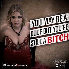 We love Hanna's sass!   Pretty Little Liars