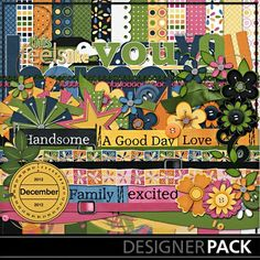 Digital Scrapbooking Kits | All in a Day-(Alb2Rem) | Everyday, Family | MyMemories