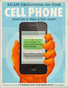 ¡El celular!