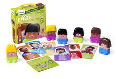 Los juegos permiten que los más pequeños aprendan y, además, identifiquen sus sentimientos. Ejemplo de ello es Emotiblocks, un juego desarrollado por Miniland para que los niños a partir de