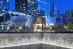 9/11 memorial pavilion by snohetta opens at ground zero - designboom | architecture