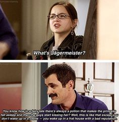 Modern Family  best explanation of Jager ever
