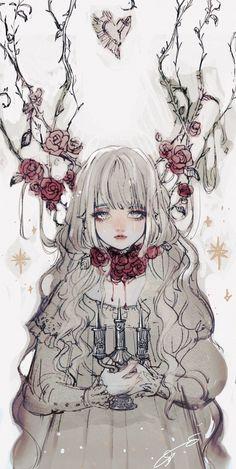 Imagen de 女の子, 闇, and ピンク