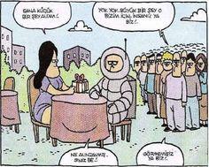 Neil Armstrong Karikatürü Özer Aydoğan | Karikatürname