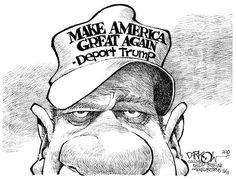 Political Cartoons of the Week: Deport Trump
