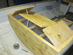 My Boat Plans - 1968 12 foot Mirrocraft aluminum boat mod Page: 1 - iboats Boating Forums Aluminum Fishing Boats, Aluminum Boat, Jon Boat, Boat Rod Holders, Boat Crafts, Boat Restoration, Build Your Own Boat, Boat Trailer, Fishing
