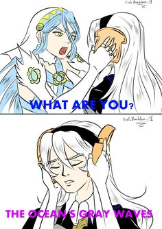 Fire Emblem Fates - Azura isn't having any of your shit