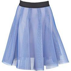 Milly Spódnica plisowana blue