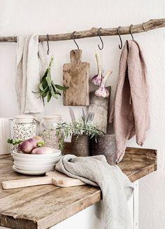 Rustic elements are ideal for hygge-inspired kitchens. #mysummerkitchen @kitchendoorw