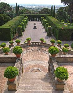 Giardini papali di Castel Gandolfo