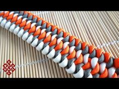 How to Make a Mated Snake Knot Paracord Bracelet Tutorial - YouTube