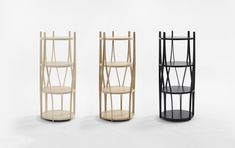 Alva shelf collection by Rainer Mutsch for Swedish brand Karl Andersson & Söner Available in ash or oak wood in various colours. Swedish Brands, Bookcase Storage, Designer, Ash, Furniture Design, Shelf, Colours, Interior Design, Wood