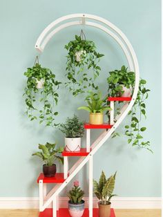 The living room household use pattern rack multilayer indoor special price balcony iron work circular buy content rack adornment - AliExpress - For the Home - # House Plants Decor, Plant Decor, Garden Rack, Garden Basket, Garden Planters, Beautiful Home Gardens, Decoration Plante, Flower Stands, Plant Shelves