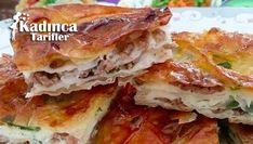 Kolay Su Böreği Tarifi Spanakopita, Lasagna, Sandwiches, Ethnic Recipes, Food, Kitchens, Essen, Meals, Paninis