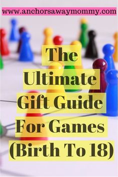 The Ultimate Gift Guide for Baby and Children's Games #giftguide #childrengames