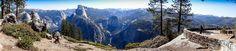Panorama sur le point de vue de Glacier Point www.voyage-aux-etats-unis.com/j6-yosemite-park/