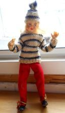 Ronnaug Petterssen ski doll 1962 wonderful clothes, well preserved, from Norway