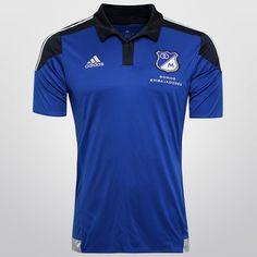 Camisa Adidas Millonarios Home 14 15 s n° - Azul Soccer Teams d1afcf79386