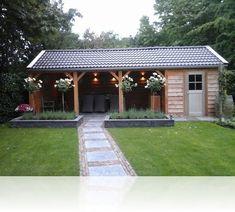 Dock for each shade roof ?, shed - Trend Diy Balcony Small Backyard Patio, Backyard Sheds, Backyard Patio Designs, Diy Patio, Outdoor Gazebos, Outdoor Sheds, Outdoor Rooms, Outdoor Living, Garden Pavilion