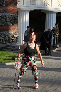 Creative Pants Is this a new fashion trend we're unaware of?