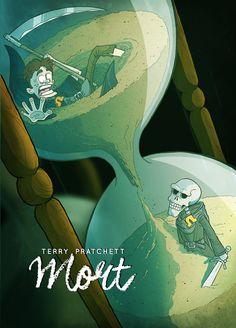Terry Pratchett's MORT by rsienicki on DeviantArt Discworld Books, Terry Pratchett Discworld, Book Hangover, Creepy Pictures, Neil Gaiman, Book Signing, Illustrators, Fantasy Art, Book Art