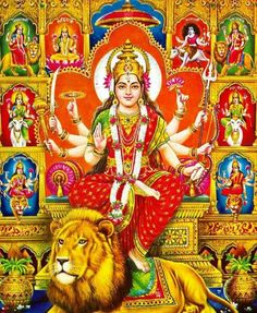 Durga Ji, Durga Goddess, Lord Shiva Family, Baby Krishna, Lord Mahadev, Navratri Special, Ganesha Art, God Pictures, Angels And Demons
