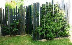 """Résultat de recherche d'images pour """"piquet en ardoise bois jardin"""""""