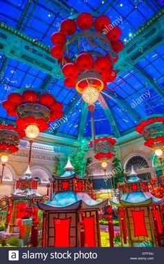Bellagio hotel, L.A_Lunar New chinesenewyeardecorations Chinese New Year Decorations, New Years Decorations, Chinese Celebrations, Immersive Experience, Mid Autumn, Lunar New, Diwali, Display Showcase, Oriental