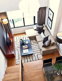 Unsure on how to decorate your small living room? #3 and #11 are awesome ideas!
