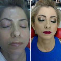 Antes e depois ... olho clássico com batom vinho amei    #semfiltro #make #makeup #maccosmetics #nyxcosmetics #urbandecay #anastassiabeverlihills #supervaidosa #pausaparafeminices #hudabeauty #maquiagemx #makeupforever #maquiagem #vegas_nay #beauty #samerkhouzami #benefit #maybelline #auroramakeup #universodamaquiagem_oficial #subeauty #subeautyoeste #goiania by jordana.makeup http://ift.tt/1U5Yk0L