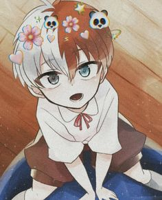 Todoroki Shoto-Todoroki❄️- - Anime World 2020 Kawaii Anime, Cute Anime Chibi, Cute Anime Pics, Cute Anime Boy, Anime Love, Anime Angel, Anime Naruto, Anime Guys, Manga Anime