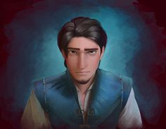 When the smolder doesn't work, then comes...the POUT. (Disney Tangled by B-AGT on DeviantArt)